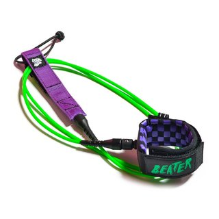 Catch Surf 6 Beater Pro-Comp Leash Green